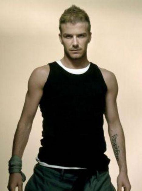 David Beckham'ın vücudu: 200 milyon $ (249 milyon YTL)